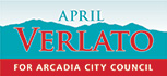 April Verlato for Arcadia City Council