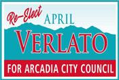 April Verlato for Arcadia City Council