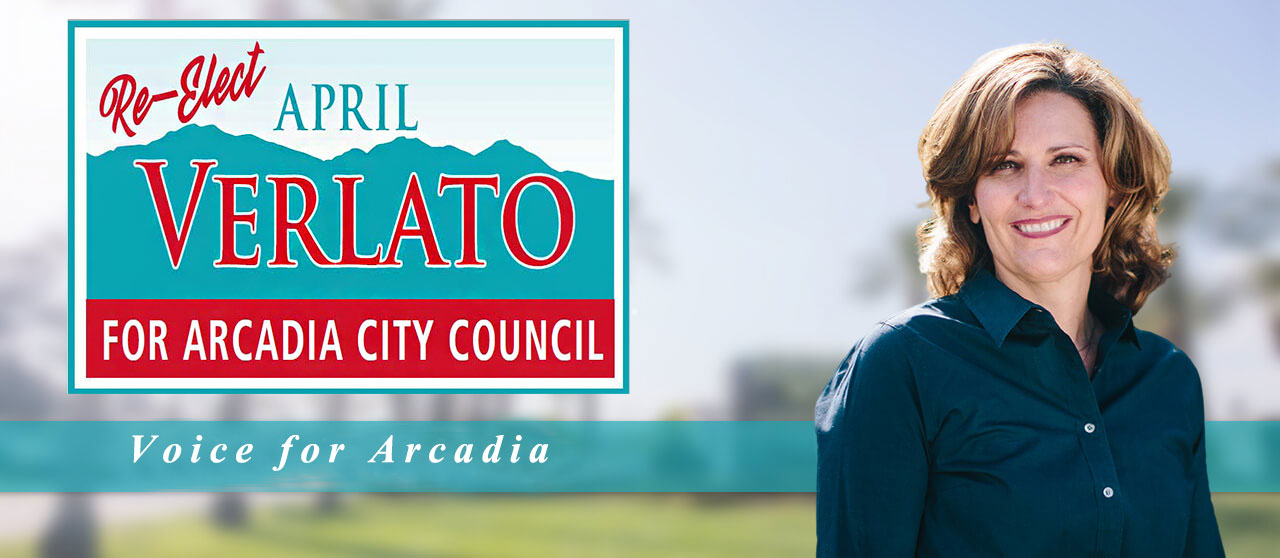 Re-elect April Verlato